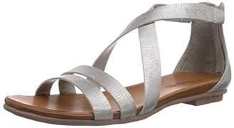 Bugatti Women's W59726R Fashion Sandals Silver Silber (silber 805) Size: 4