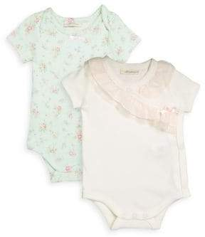 Baby's Two-Pack Ruffled Bodysuits