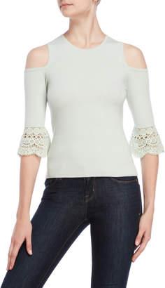 Karen Millen Cutout Bell Sleeve Sweater