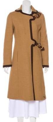 Prada Wool Knee-Length Coat
