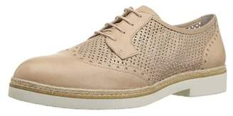 Tamaris Womens Kela 23718 Leather Almond Toe Oxfords