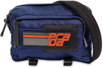 Prada Logo Patch Nylon Camera Bag