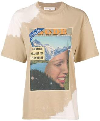 Golden Goose tie dye graphic T-shirt