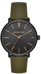 MICHAEL Michael Kors Blake Leather Strap Watch, 42mm