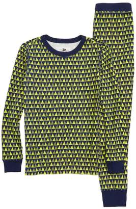 J.Crew crewcuts by Triangles Fitted Two-Piece Pajamas