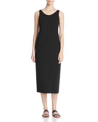 Eileen Fisher Scoop Neck Midi Tank Dress