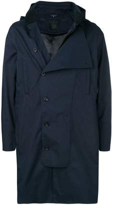 Norwegian Rain double buttoned raincoat