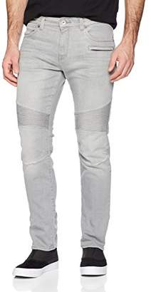 Armani Exchange A|X Men's Grey Motorcycle Jeans