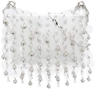 Paco Rabanne metallic bead crossbody bag