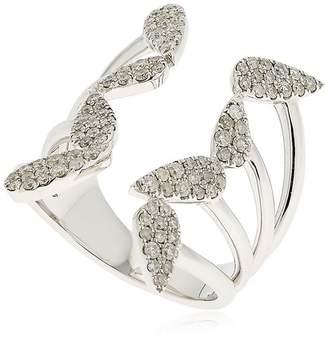 Open Pear Diamond White Gold Ring