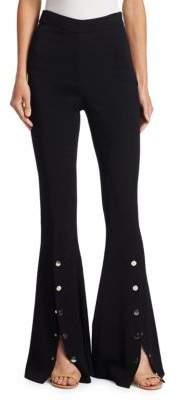 Cushnie et Ochs Emma High-Waist Flare Pants