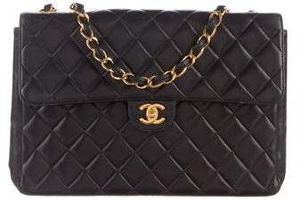 Chanel Quilted Classic Jumbo Single Flap Bag