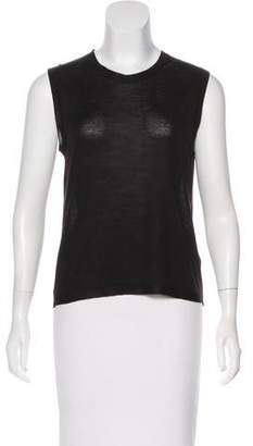 Calvin Klein Collection Wool Sleeveless Top