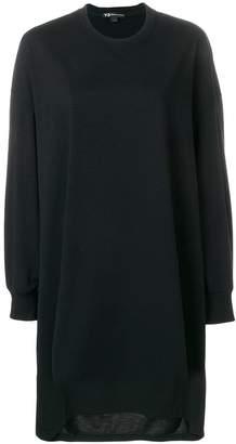 Y-3 oversized sweatshirt dress