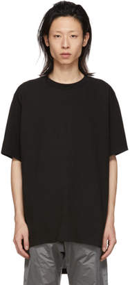 D.gnak By Kang.d Black Back Zipper T-Shirt