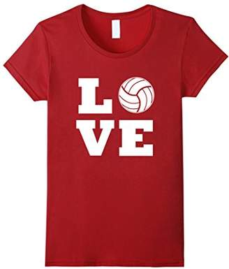 I Love Volleyball T-Shirt - Volleyball Lovers T-Shirt