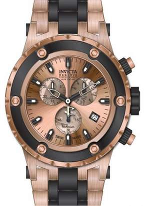 Invicta Men's Subaqua 80513 Rose-Gold Stainless-Steel Swiss Chronograph Watch