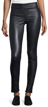 Helmut Lang Lamb Leather Leggings $920 thestylecure.com