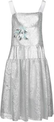 DELPOZO 3/4 length dresses