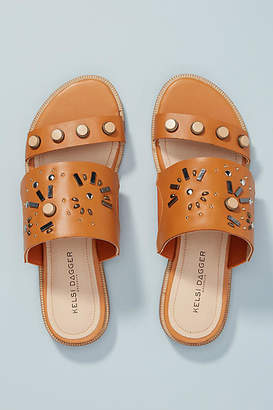 Kelsi Dagger Brooklyn Raven Slide Sandals