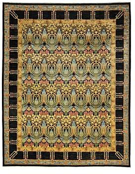 Suzani Collection Oriental Rug, 9'1 x 11'6