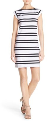 Women's French Connection 'Born On The Beach' Stripe T-Shirt Dress $88 thestylecure.com