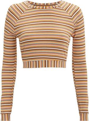 ELLEJAY Sunny Striped Knit Sweater