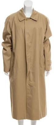 Burberry Vintage House Check-Lined Trench Coat