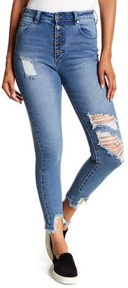 Cotton On & Co. Grazer High Rise Distressed Skinny Jeans