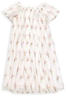 Ralph Lauren Little Girl's& Girl's Pleated Dress