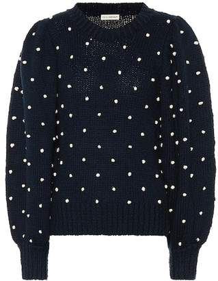 Ulla Johnson Adalene polka-dot cotton sweater
