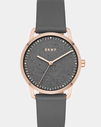 DKNY Greenpoint Grey Analogue Watch