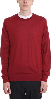 Lanvin Red Wool Sweater