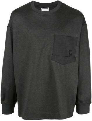 Wooyoungmi oversized pocket sweatshirt
