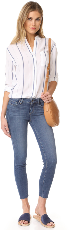 PAIGE Verdugo Crop Skinny Jeans 3