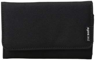 Pacsafe RFIDsafe LX100 RFID Blocking Wallet Wallet Handbags