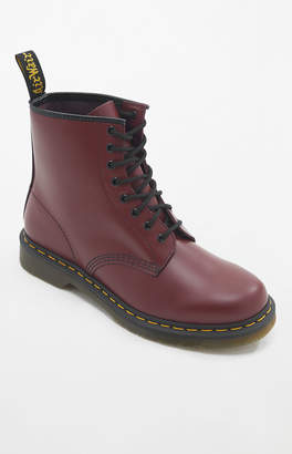 Dr Martens 1460 Smooth Leather Cherry Red Boots