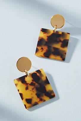 Amber Sceats Nevada Square Drop Earrings