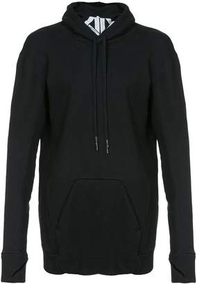 11 By Boris Bidjan Saberi elongated longsleeved hoodie