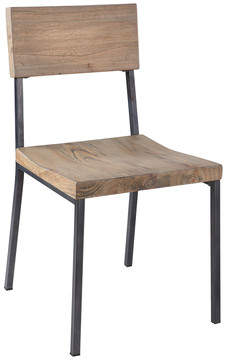 Union Rustic Macpherson Solid Wood Dining Chair