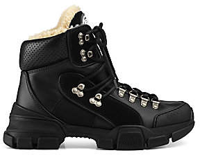 Gucci Women's Journey Bootie with Shearling