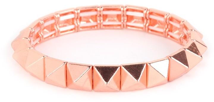 BaubleBar Rose Pyramid Stretch Bracelet