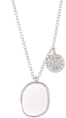 Meira T White Gold Amazonite Necklace