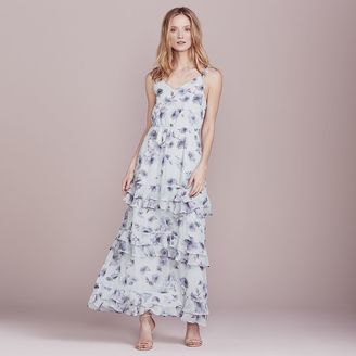 LC Lauren Conrad Dress Up Shop Collection Ruffle Maxi Dress - Women's $100 thestylecure.com