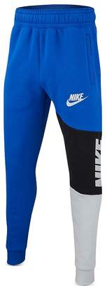 Nike Boys' Color-Block Fleece Jogger Pants - Big Kid
