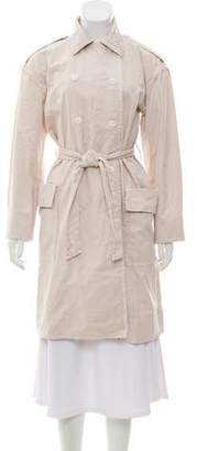 Raquel Allegra Knee-Length Trench Coat w/ Tags