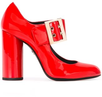 Lanvin Mary Jane buckle pumps $750 thestylecure.com