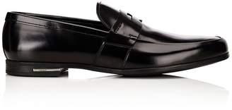 37080fbe619 netherlands prada apron toe loafer in black for men lyst 23e71 e5958   sweden at barneys new york prada mens apron toe penny loafers f80da a8408
