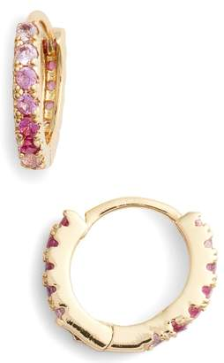 Lulu DK Ombre Huggie Hoop Earrings