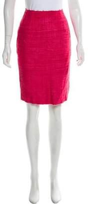 Prada Bouclé Knee-Length Skirt w/ Tags